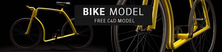 Free-C4D-Model-Viks-Tube-Bike-Bicycle-Cinema