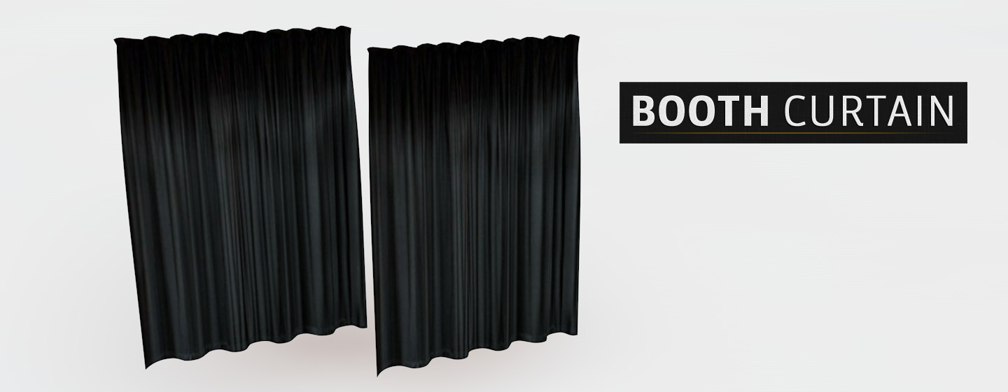 Booth-Curtain-3D-C4D-Model