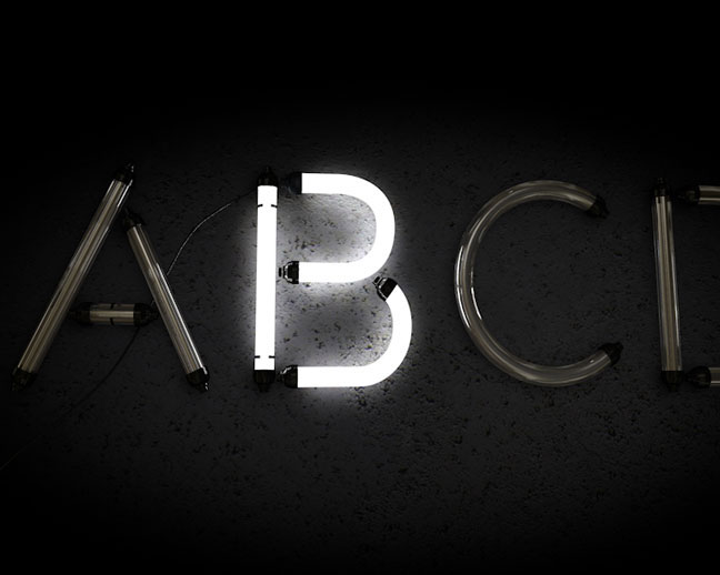 Free Cinema4D Neon Alphabet Download - The Pixel Lab