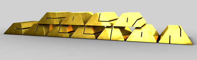 Gold-Buillion-C4D-3D-Text-Titles-Trailer