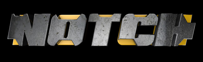 Notch-C4D-3D-Text-Titles-Trailer