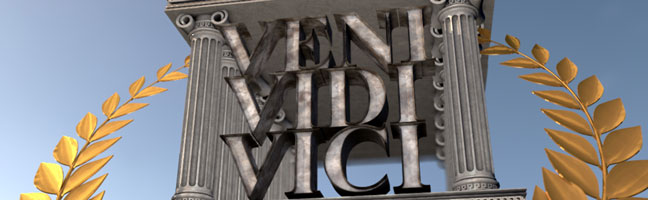 Veni-Vidi-Vici-C4D-3D-Text-Titles-Trailer2