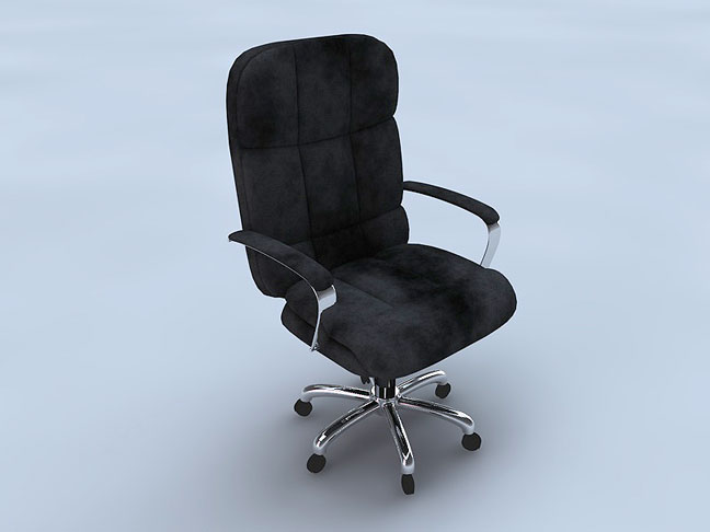 free-c4d-3d-model-exec-chair