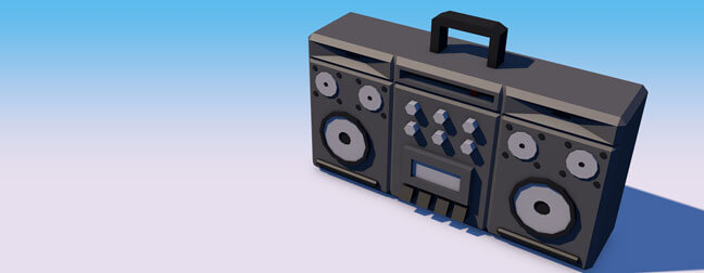 c4d-cinema4d-maxon-3d-model-low-poly-explainer-table-top-objects-ghetooblaster