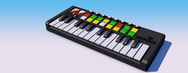 c4d-cinema4d-maxon-3d-model-low-poly-explainer-table-top-objects-keyboard-synth