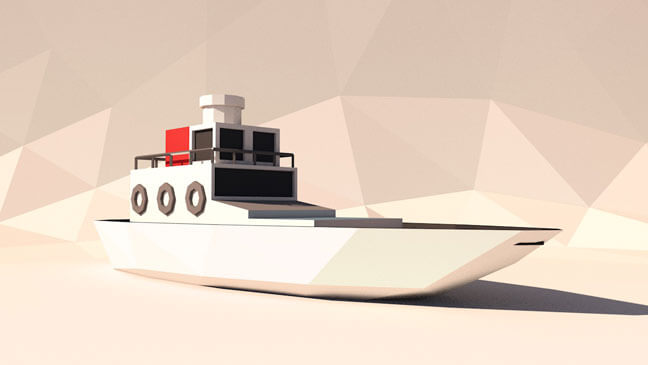 maxon-cinema4d-c4d-3d-model-low-poly-boat
