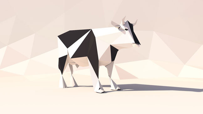 maxon-cinema4d-c4d-3d-model-low-poly-cow