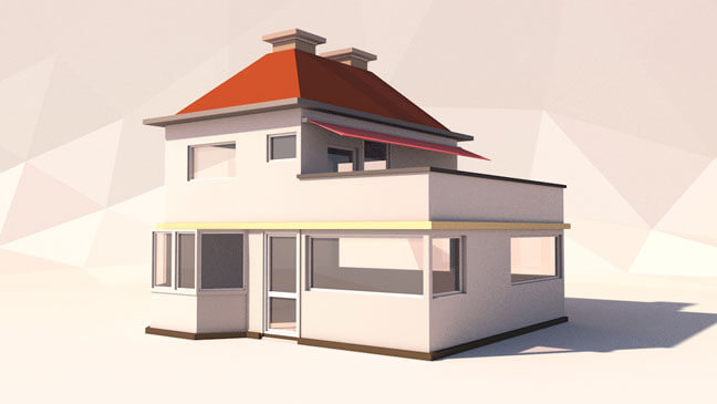 maxon-cinema4d-c4d-3d-model-low-poly-home1