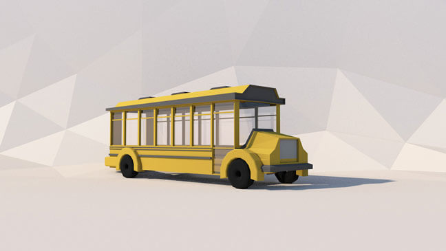 maxon-cinema4d-c4d-3d-model-low-poly-bus