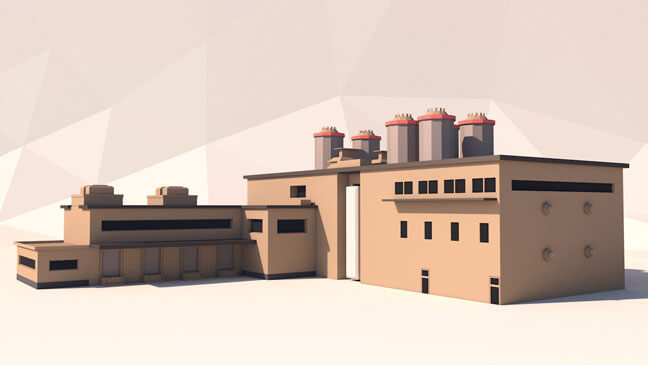 maxon-cinema4d-c4d-3d-model-low-poly-factory-2