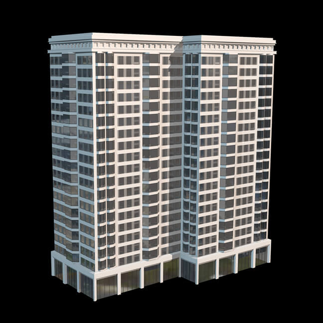 Cinema 4D Tower Tool City Building Skyscraper Generator