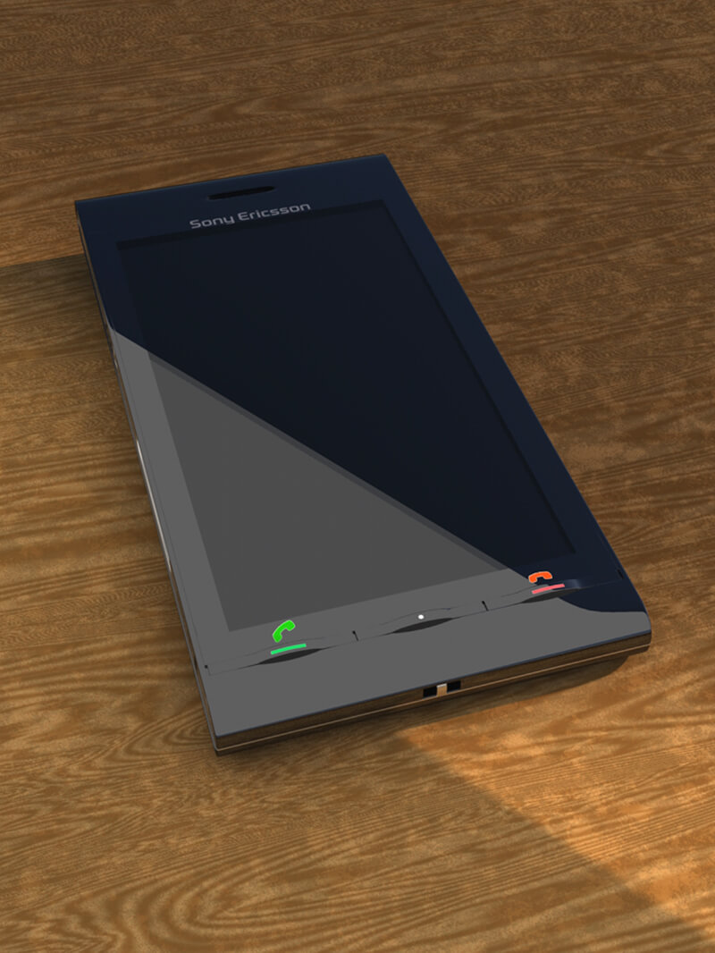 Free Cinema 4D 3D Phone Model