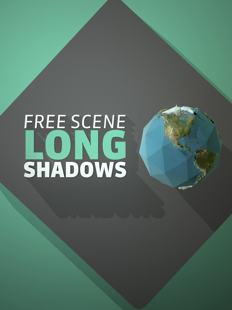 Free Cinema 4D Long Shadows C4D