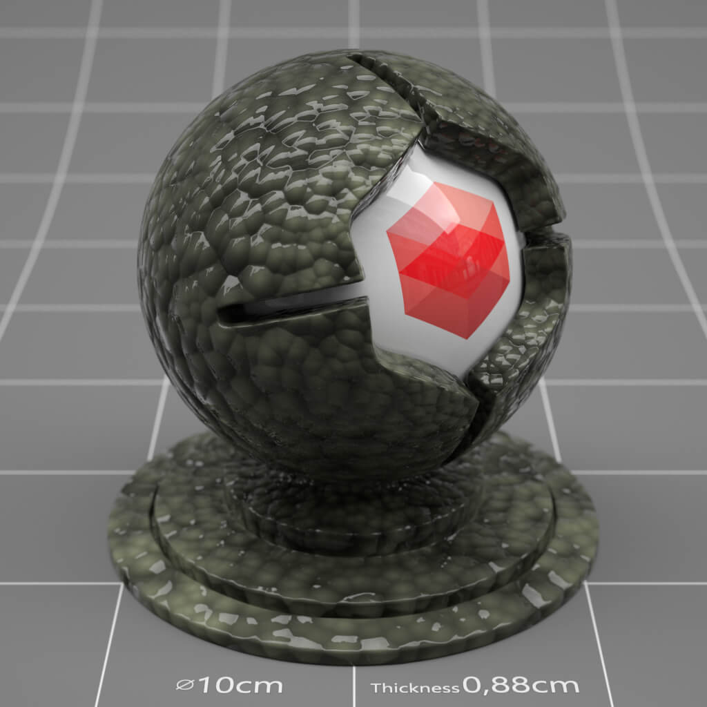 Cinema4D-C4D-Redshift-Textures-Materials-RS-Reptile-Skin