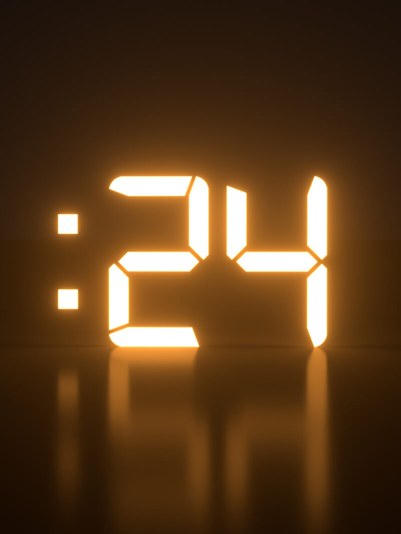 free cinema 4d digital countdown clock and xpresso rig