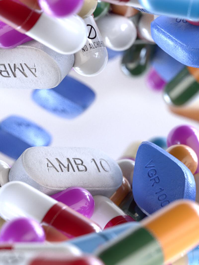 Free C4D Medicine Pill 3D Model