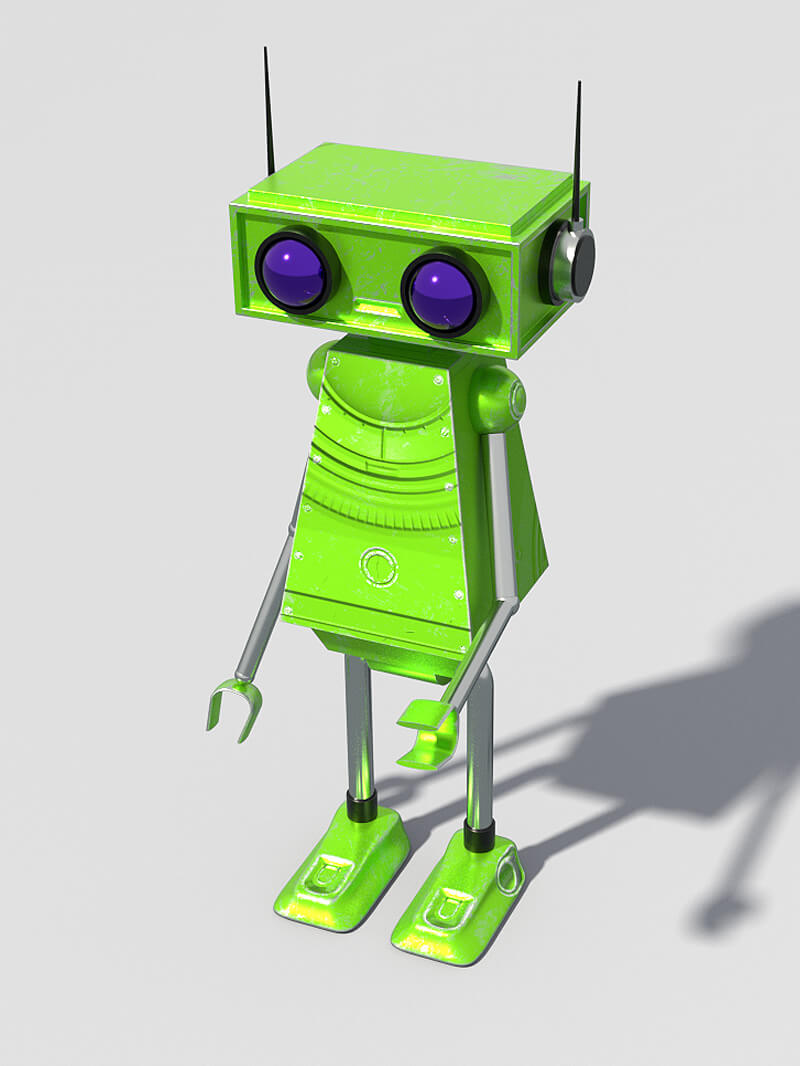 Free C4D Cinema 4D Model Robot