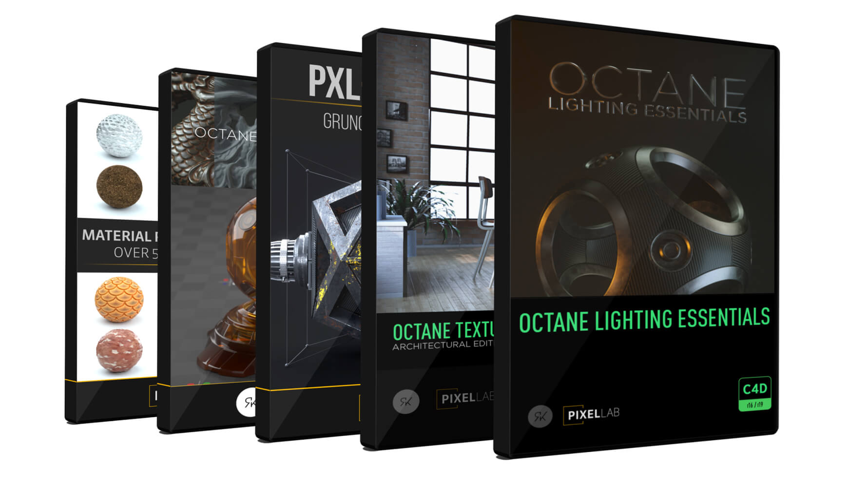 Octane Bundle DVDs for Cinema 4D