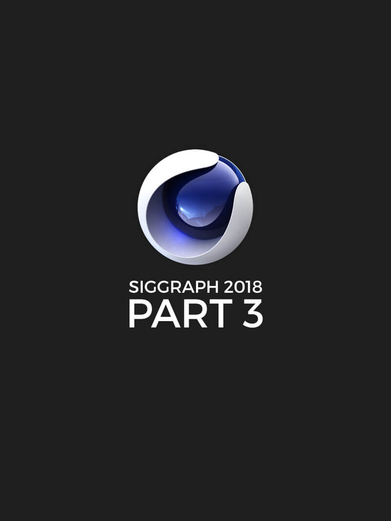 Free Cinema 4D Siggraph Presentations Volume 3