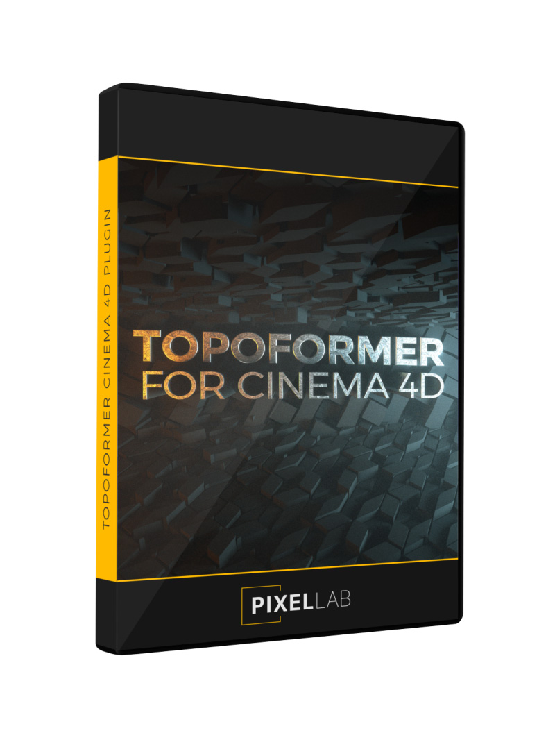 Topoformer For Cinema 4D DVD Plugin