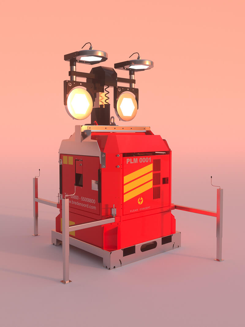 Free Cinema 4D 3D Model Robot Generator