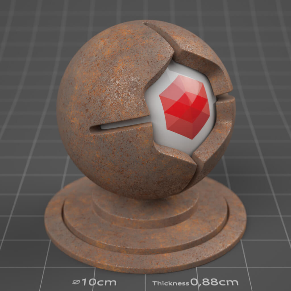 31_RS_Iron_Rusted_Heavy_4K_Redshift_Cinema_4D_Material