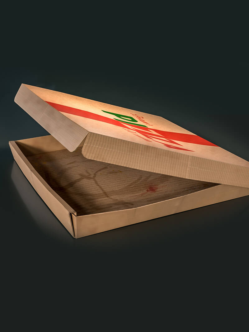 Free Cinema 4D 3D Model Empty Pizza Box
