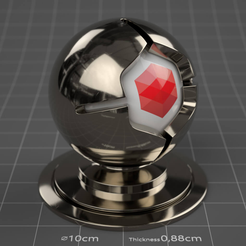 03_RS_Platinum_Polished_Scratched_Slight_4K_Redshift_Cinema_4D_Material