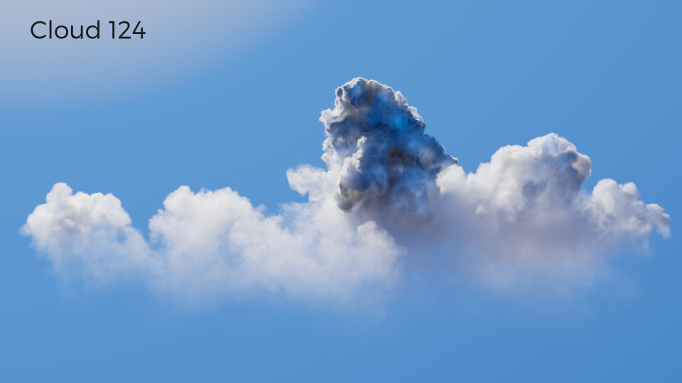 VDB Cloud Pack Volume 2 Redshift Cinema 4D Octane Houdini