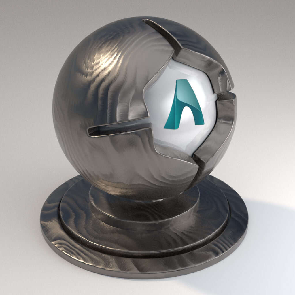 Cinema_4D_Arnold_Material_Pack_Mutating_Metal_Iron_Grinded_Shattered