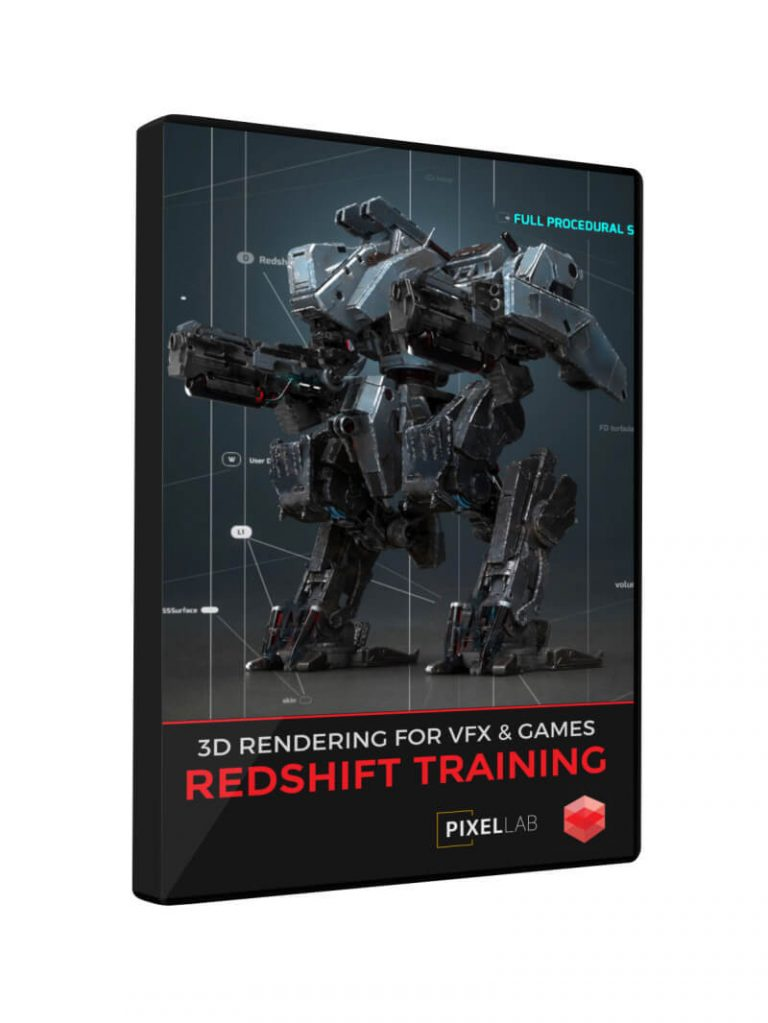 Redshift Cinema 4D Training VFX Games 3D