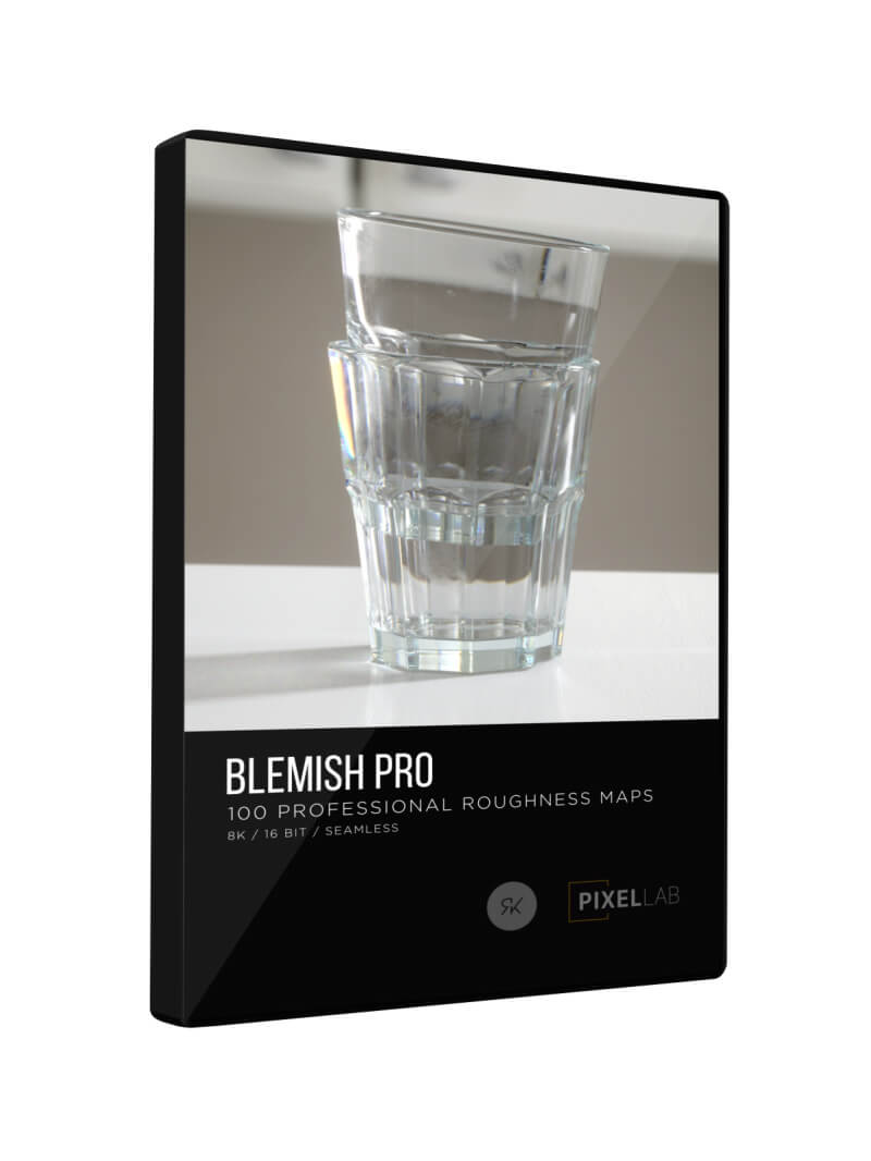 Blemish Pro Roughness Maps 3D Motion Graphics