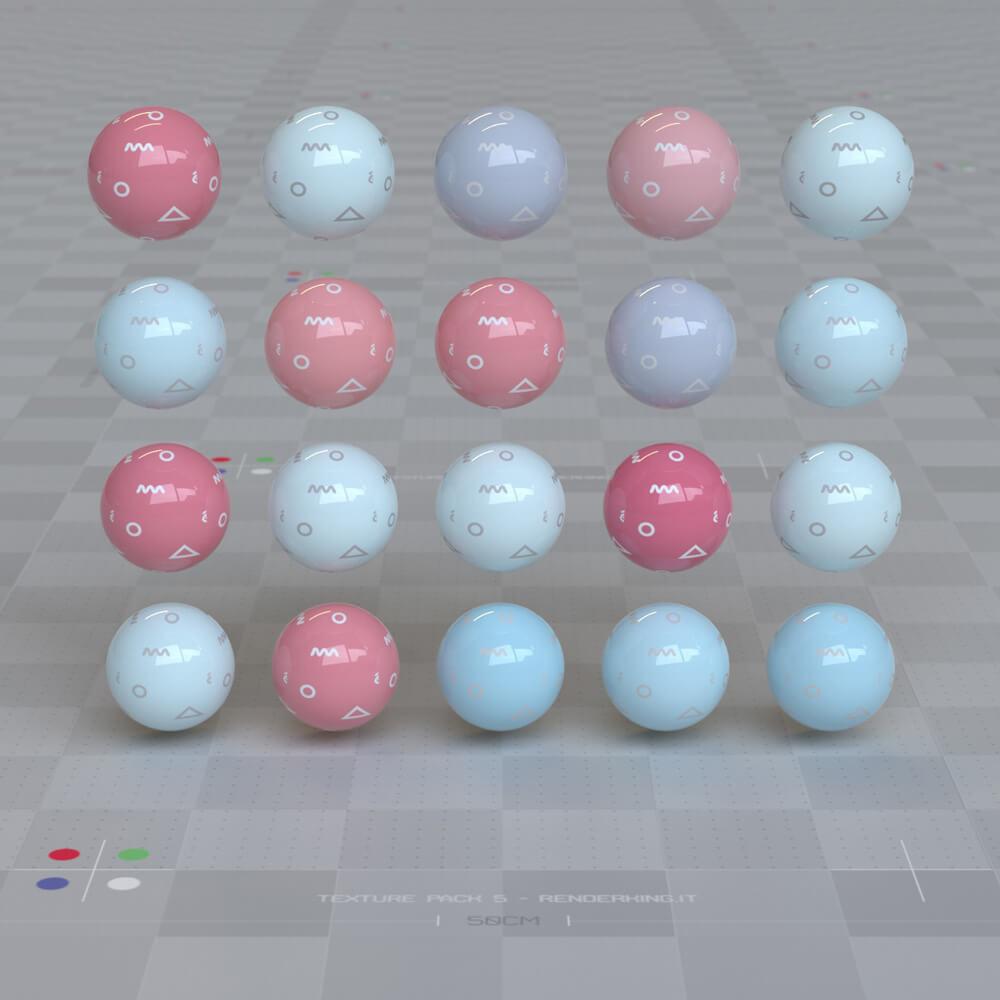 Cinema 4D Octane Texture Pack 5 Motion Design Materials