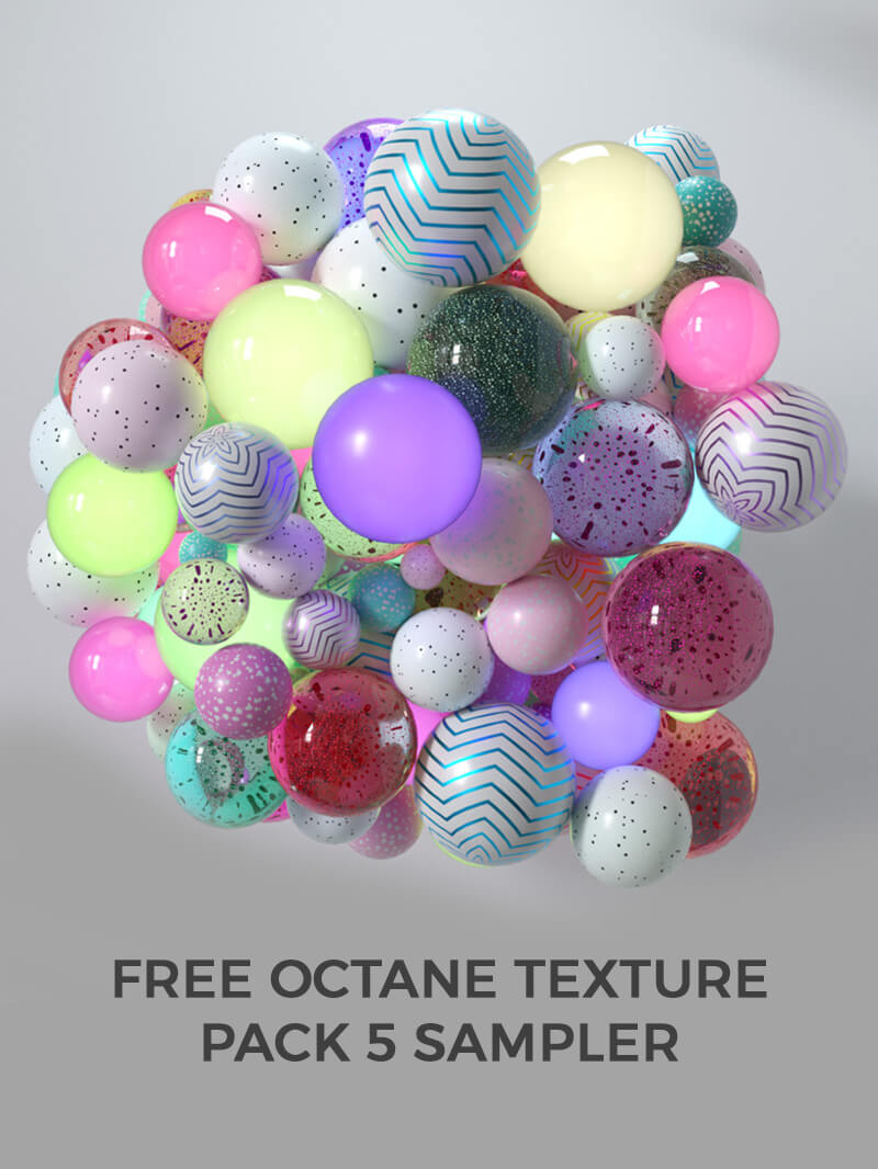 Cinema 4D Octane Texture Pack 5 Motion Design Materials