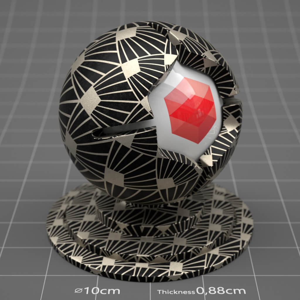 Redshift RS Cinema 4D Texture Paper