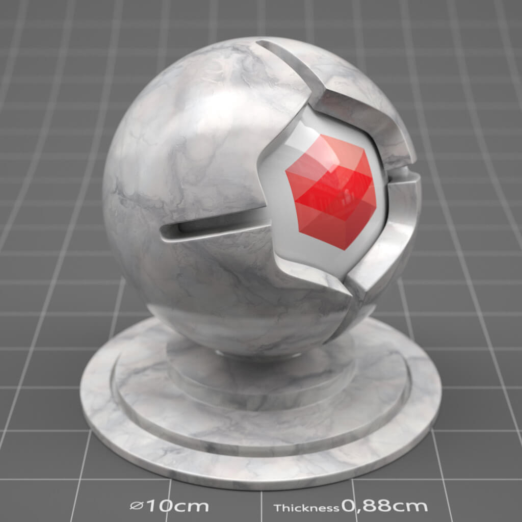 Redshift RS Cinema 4D Texture Marble Granite