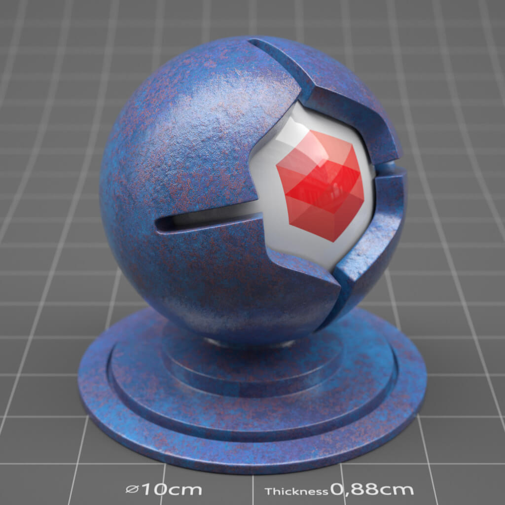 Redshift RS Cinema 4D Texture Material Ceramic
