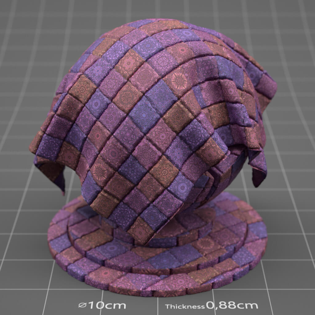 Redshift RS Cinema 4D Texture Material Fabric