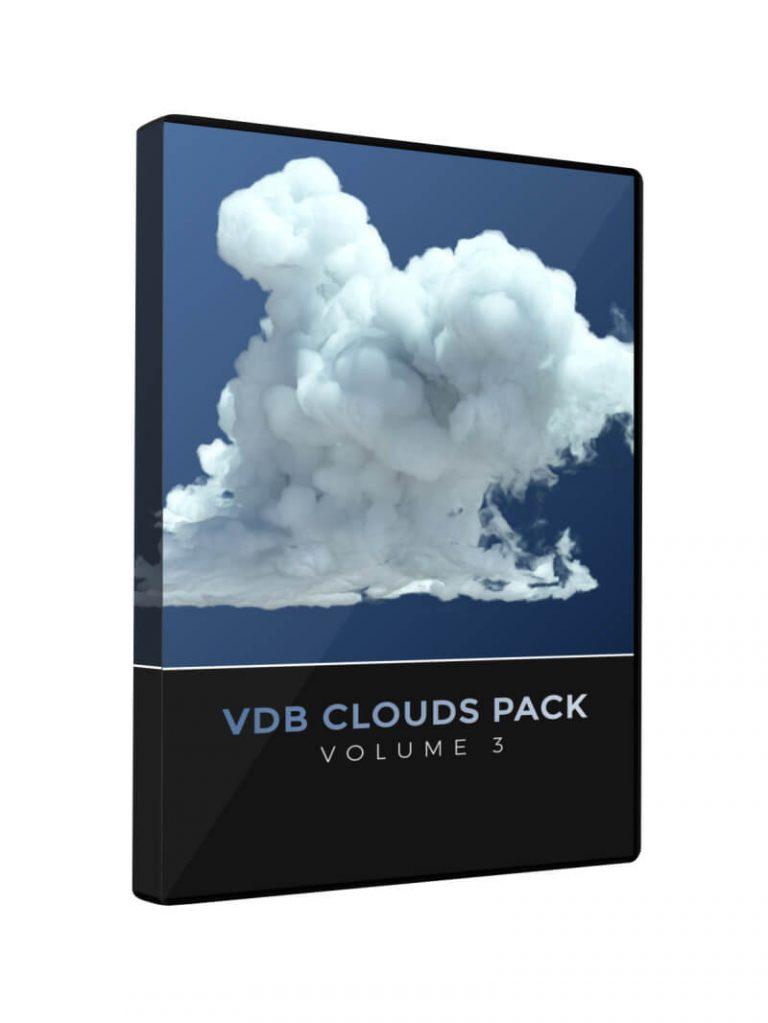 VDB Cloud Pack Volume 3 Redshift Cinema 4D Octane Houdini