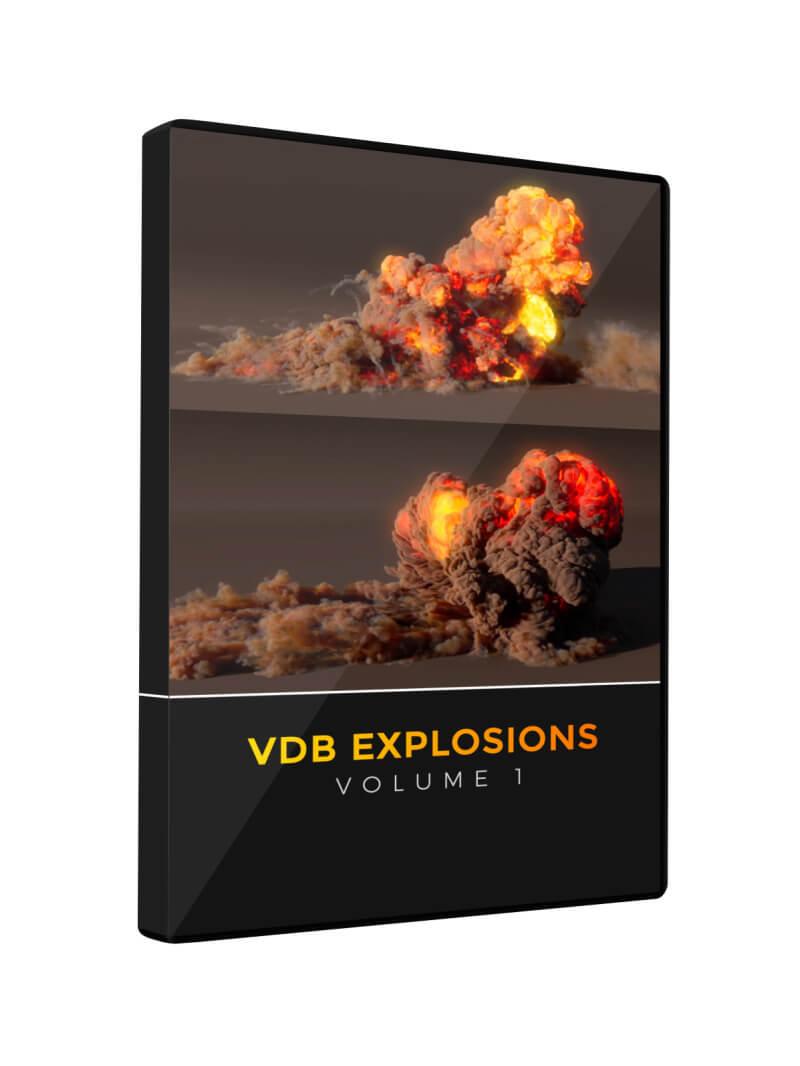 VDB Explosions DVD
