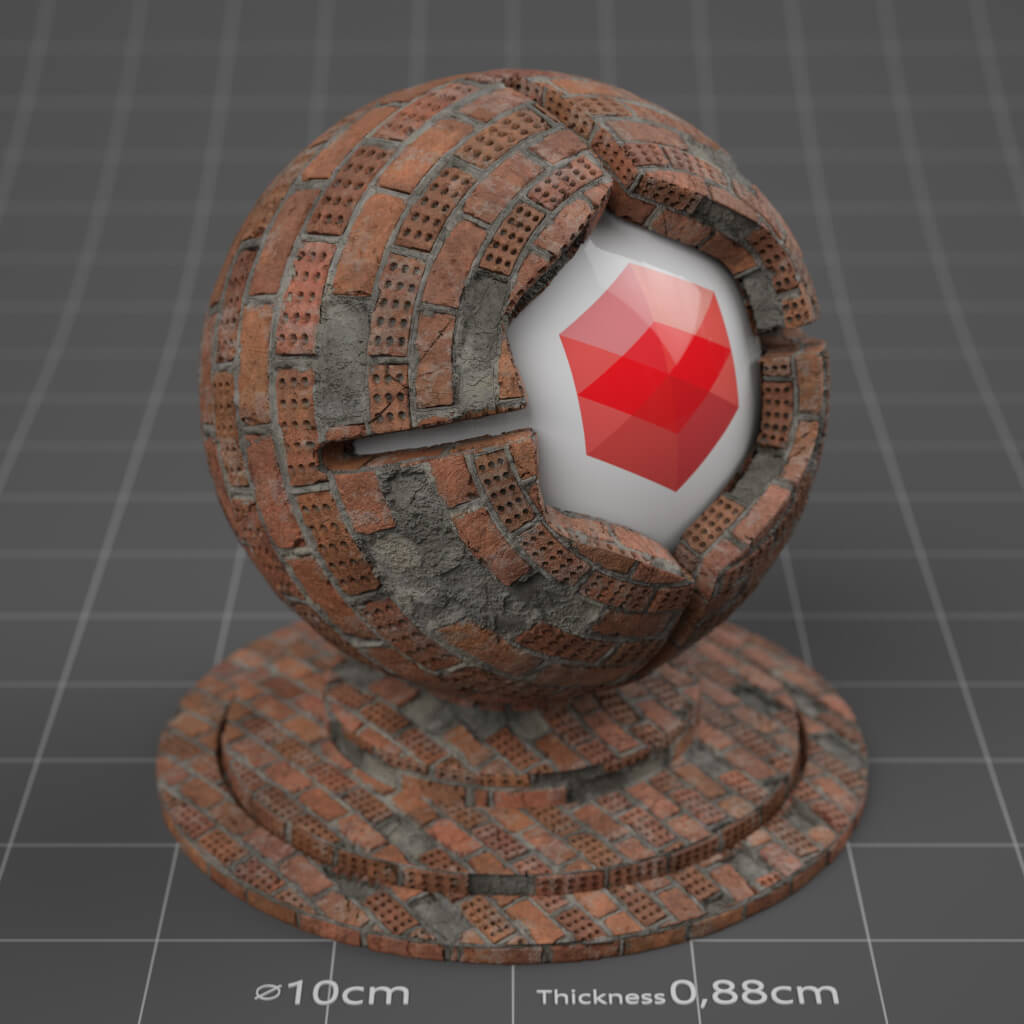 07_RS_Brick_07_Wall_Damaged_Cinema-4D-Redshift-Material
