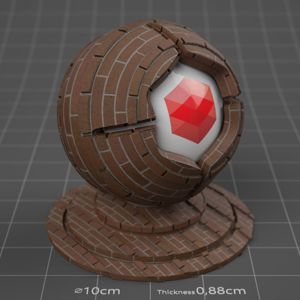 08_RS_Brick_08_Wall_Plain_Cinema-4D-Redshift-Material