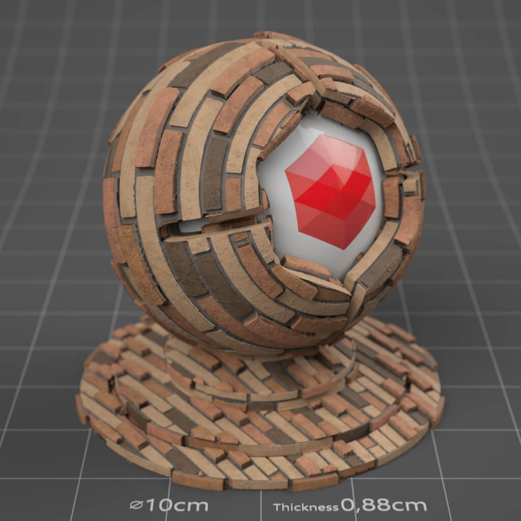 18_RS_Brick_18_Wall_Plain_Cinema-4D-Redshift-Material
