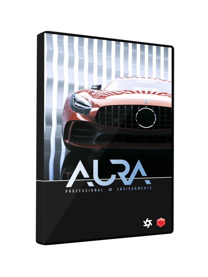 Cinema 4D Aura Professional 3D Environments for Cinema 4D