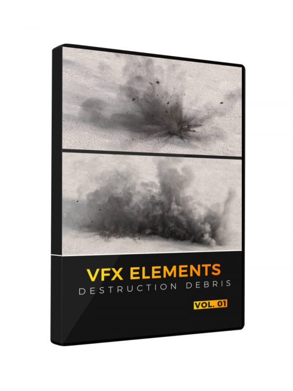 VFX Elements Destruction Debris Volume 1