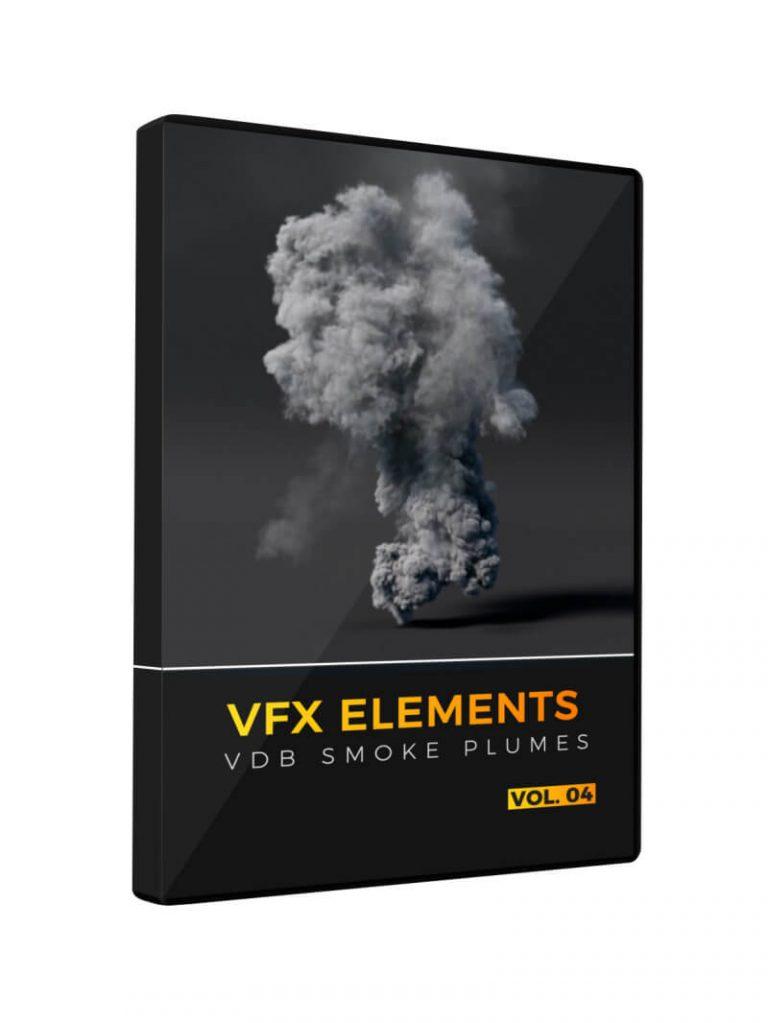 VFX Elements Volume 04 VDB Smoke Plumes