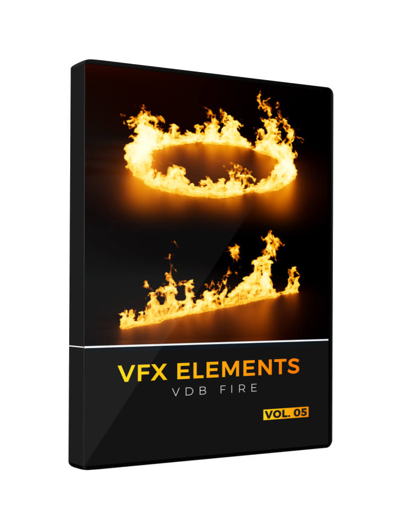 VDB Fire Pack VFX Elements