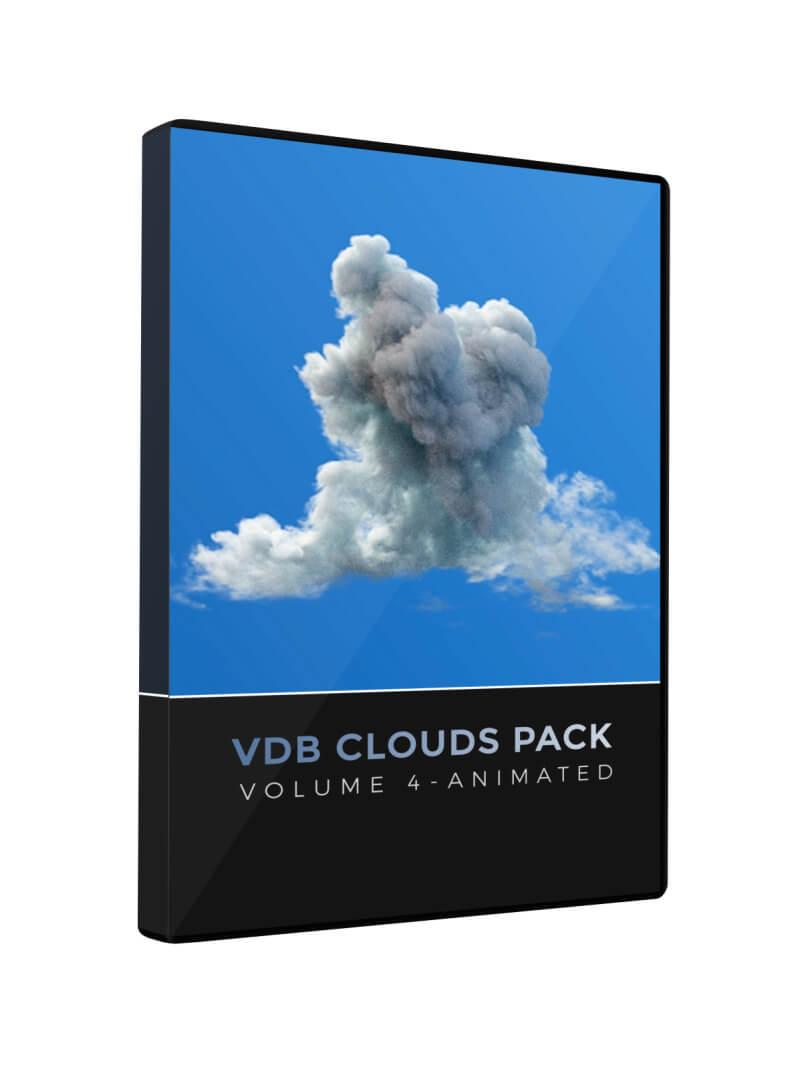 VDB Clouds Volume 4 Animated
