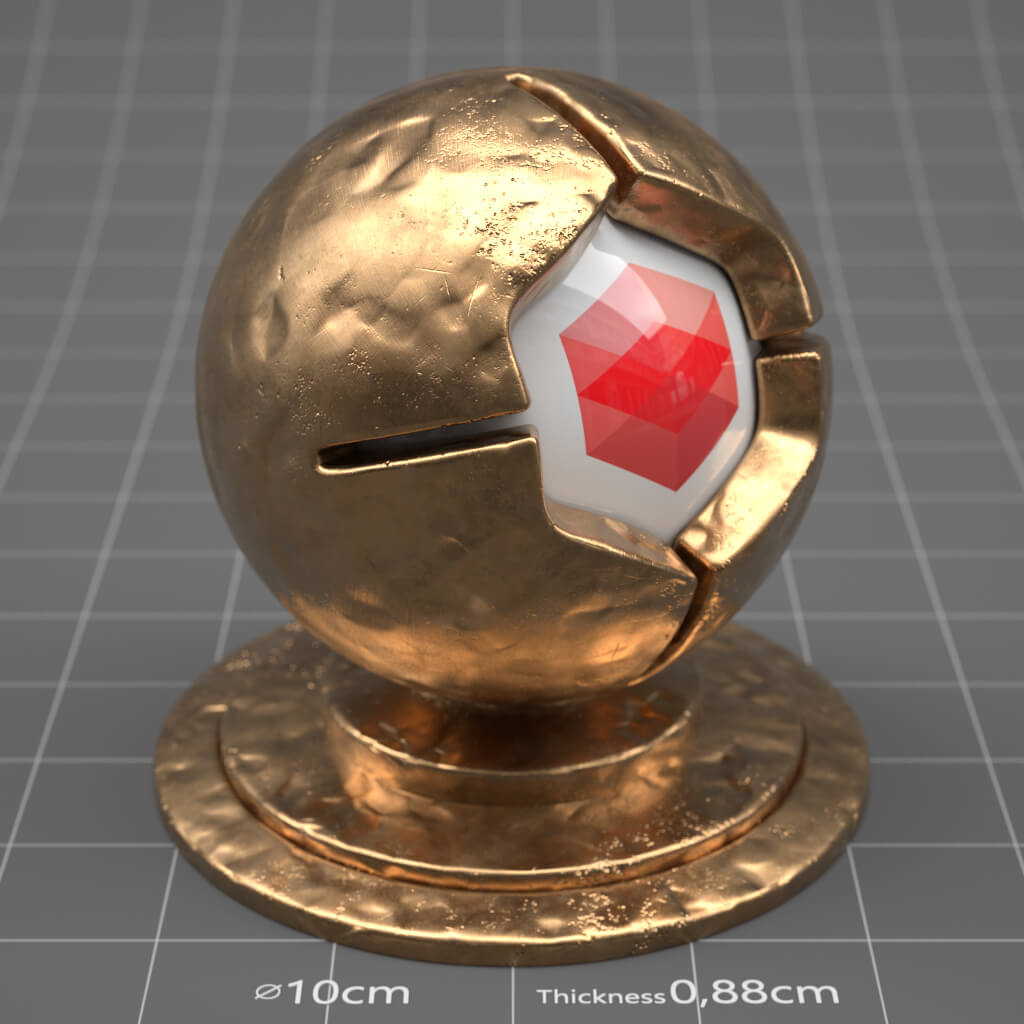 RS_Dented_Metal_04_4K_Redshift_Cinema_4D_Material_Texture
