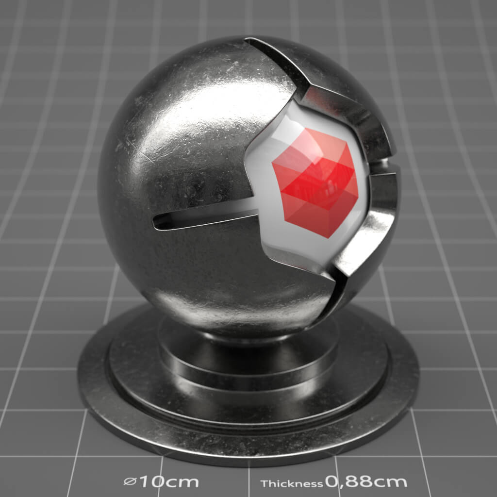 RS_Scratched_Metal_05_4K_Redshift_Cinema_4D_Material_Texture